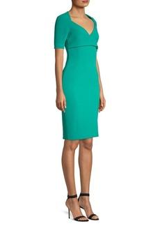 Versace Short Sleeve Bodycon Dress