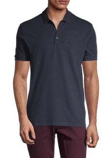 Versace Short-Sleeve Cotton Polo