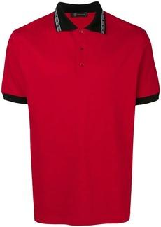 Versace short-sleeve polo shirt