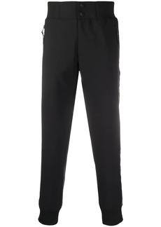 Versace side logo trim sweatpants