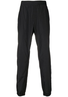 Versace side-stripe track pants