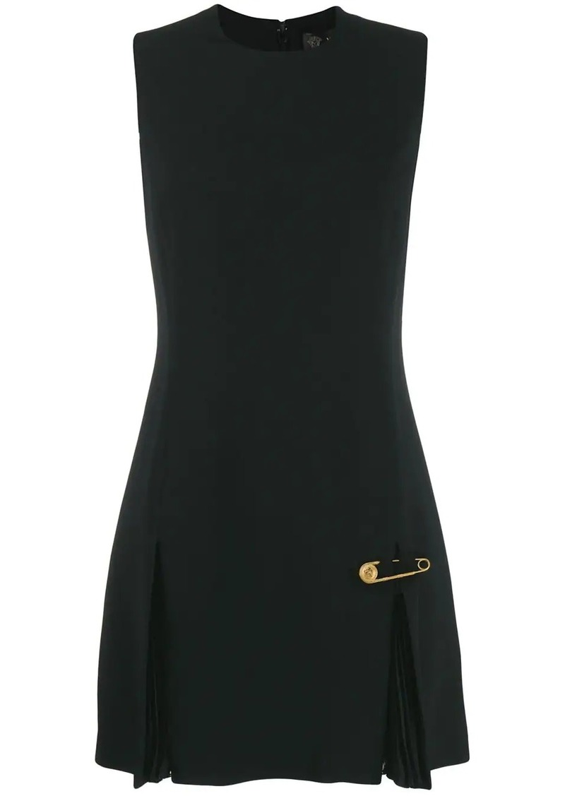 Versace sleeveless safety pin dress