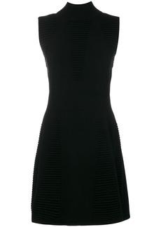 Versace sleeveless textured dress