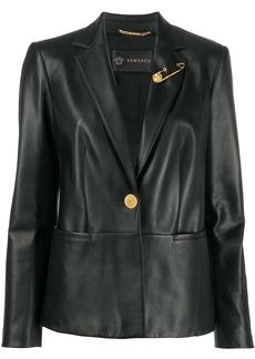 Versace slim fit blazer