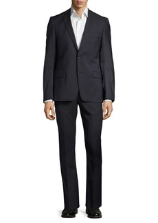 Versace Slim-Fit Pinstriped Two-Piece Suit