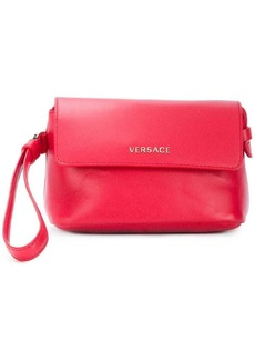 Versace small wristlet clutch bag