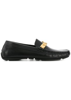 Versace smooth Medusa loafers