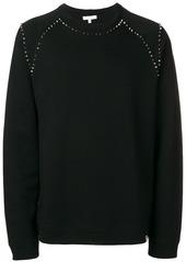 Versace spike detail sweatshirt