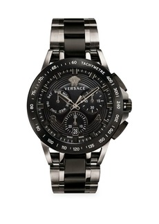 Versace Sport Tech Ion-Plated Chronograph Watch