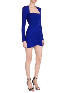 Versace Square Neck Bodycon Mini Dress