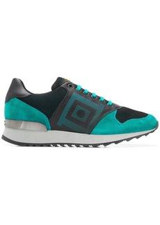 Versace square print sneakers