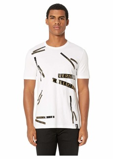 Versace Staggered Logo T-Shirt