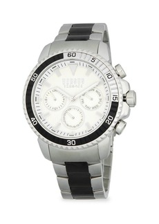 Versace Stainless Steel Bracelet Chronograph Watch