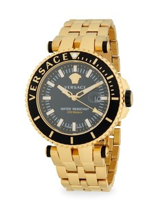 Versace 46MM Stainless Steel Bracelet Watch