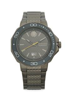 Versace Stainless Steel Bracelet Watch