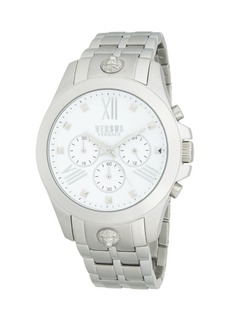 Versace Stainless Steel Chronograph Watch