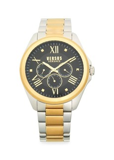 Versace Stainless Steel Two-Tone Bracelet Watch