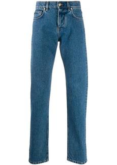 Versace straight leg denim jeans