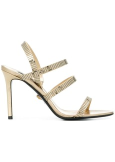Versace strappy mesh sandals