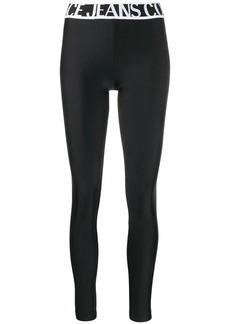 Versace stretch-jersey leggings