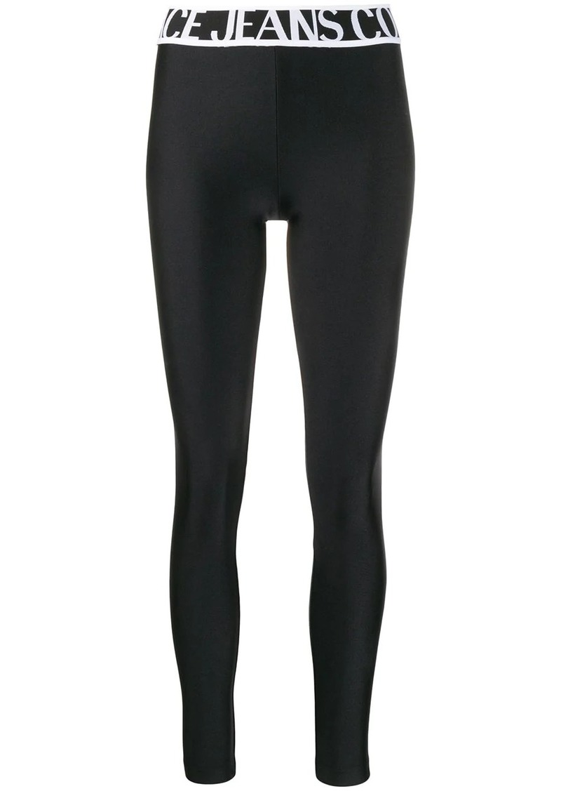 Versace stretch-jersey leggings
