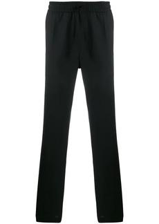 Versace stretch straight leg trousers