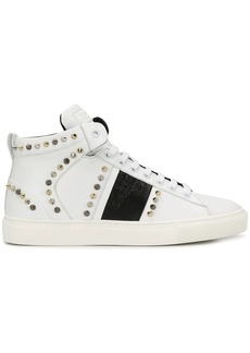 Versace stud high-top sneakers