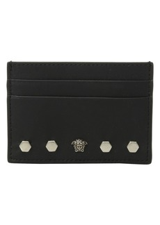 Versace Studded Card Case