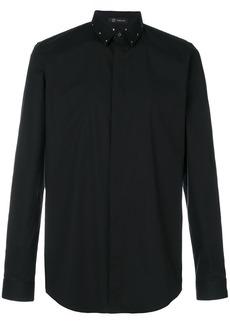Versace studded collar shirt