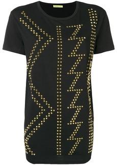 Versace studded crew neck T-shirt