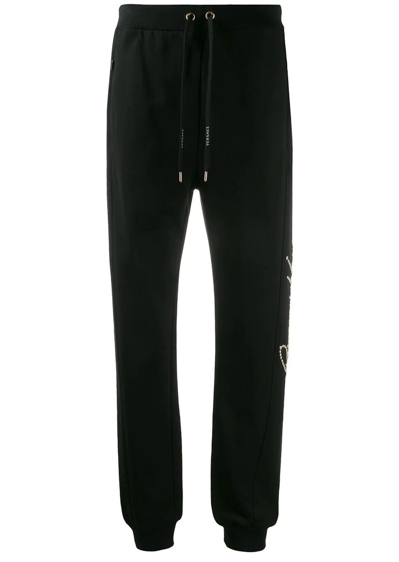 studded Gianni Versace track pants