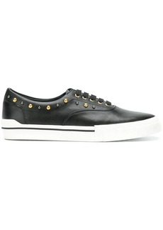 Versace studded lace-up sneakers