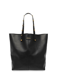 Versace Studded Leather Tote