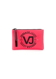 Versace studded logo make-up bag