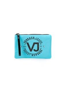 Versace studded logo make-up bag