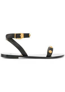 Versace studded strap sandals