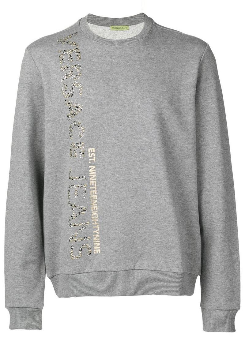 Versace studded sweatshirt