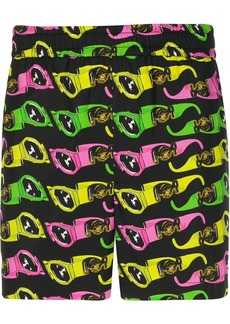Versace sunglasses printed track shorts