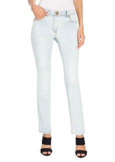 Versace Swarovski Medusa Logo Skinny Jeans