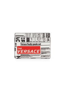 Versace Tabloid Print Card Case