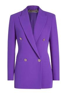 Versace Tailored Silk Blazer
