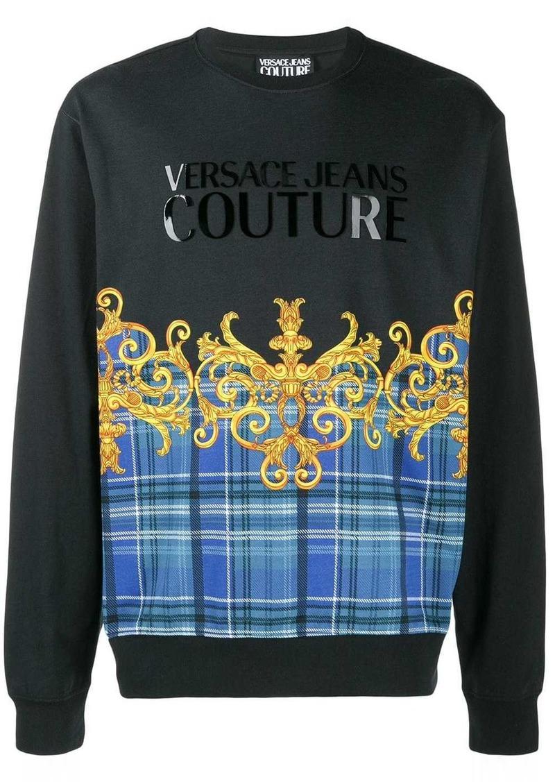 Versace Tartan Leo Baroque hoodie