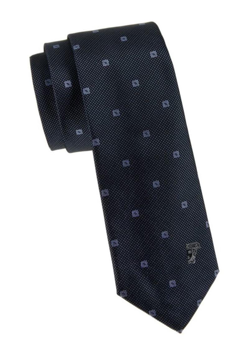 Versace Textured Silk Tie