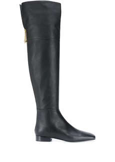 Versace thigh-high 25mm boots