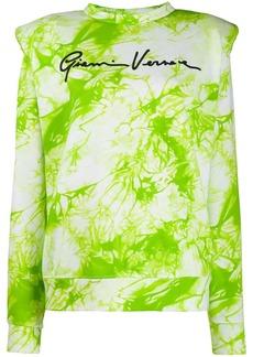 Versace tie-dye Gianni sweatshirt