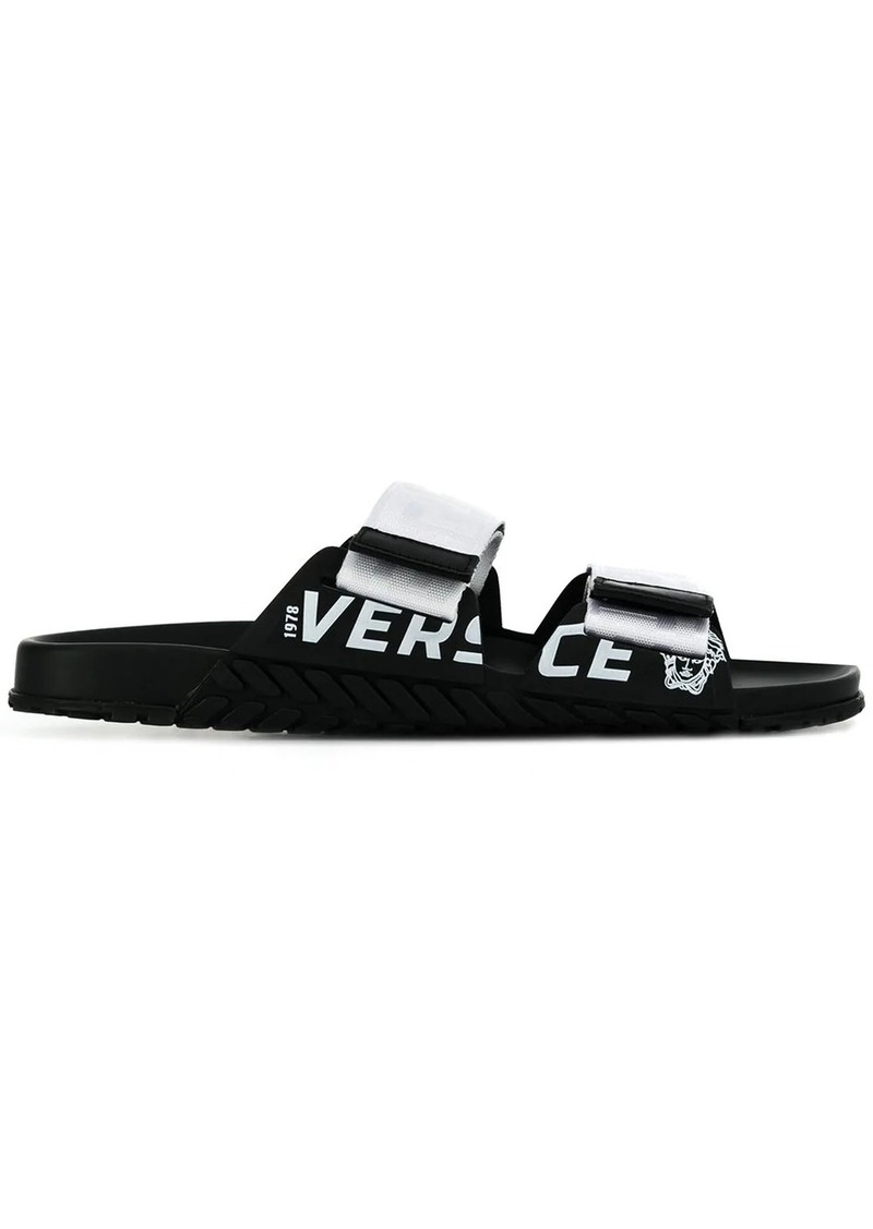 Versace touch strap slides