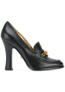 Versace Tribute loafer heels