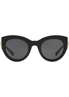 Versace Tribute oversized-frame sunglasses