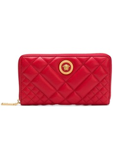 Versace Tribute quilted wallet
