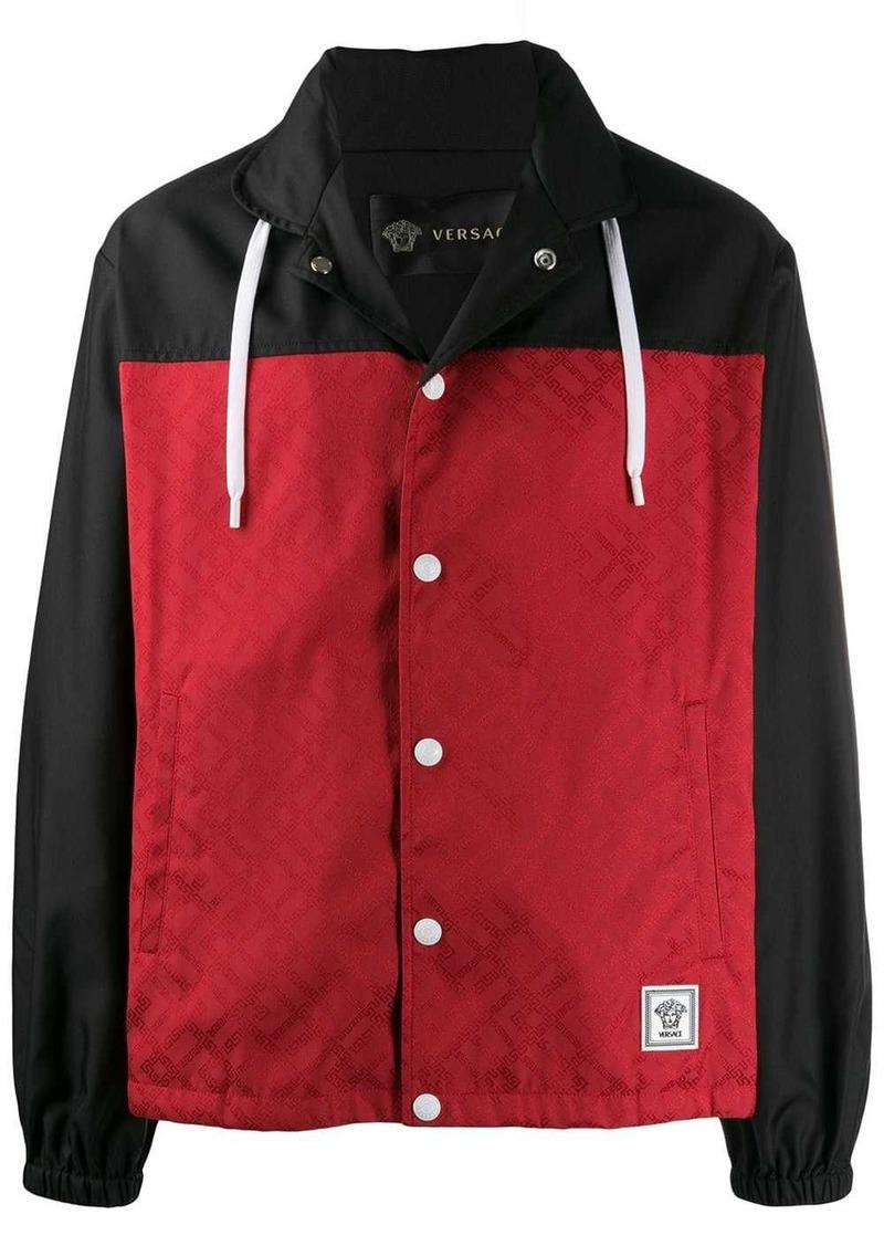 Versace two-tone lightweight jacket